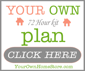 Your Own 72 Hour Kit Plan | PreparednessMama