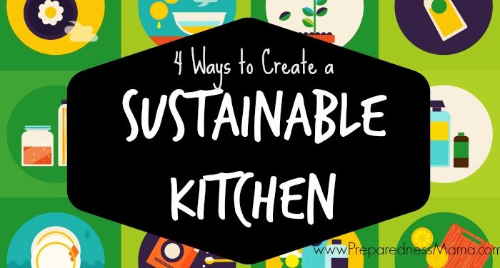 Create a Sustainable Kitchen: Infographic
