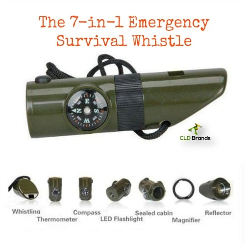 Signaling in a emergency with a survival whistle | PreparednessMama