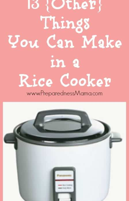 13 {Other} Rice Cooker Meals That Will Wow Your Family