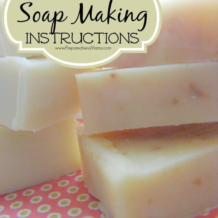 Basic Soap Making Instructions