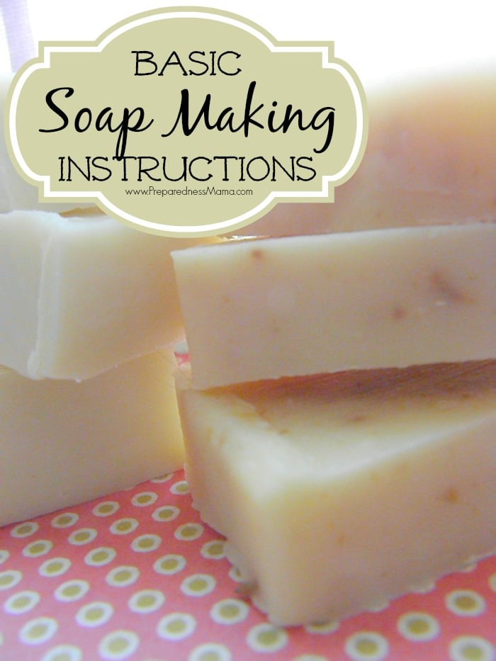 Basic soap making instructions | PreparednessMama