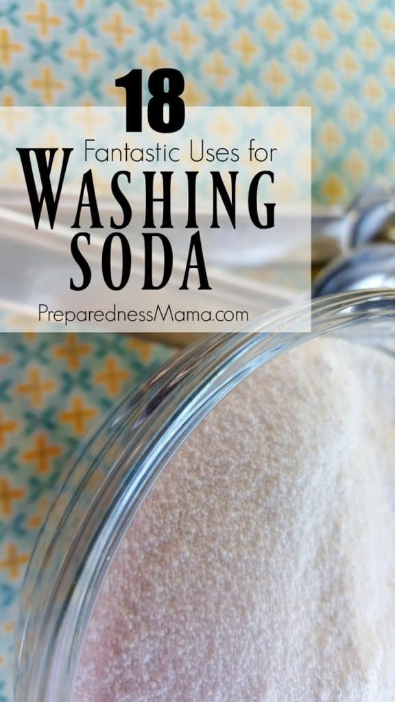18 Fantastic uses for washing soda around the home | PreparednessMama