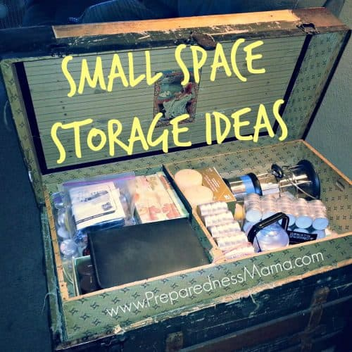 30+ Small Space Storage Ideas | PreparednessMama