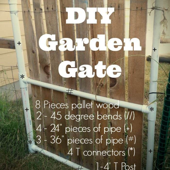 DIY Simple Garden Gate