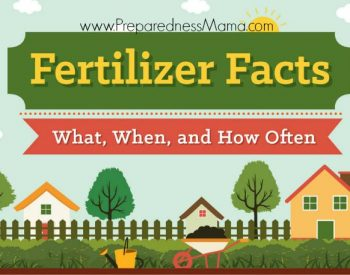The guide to garden fertilizers. Understanding N-P-K | PreparednessMama