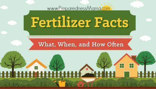 The guide to garden fertilizers. Understanding N-P-K | PreparednessMama