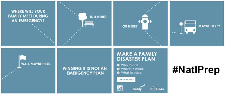 Where will you have your family meet after an emergency?   PreparednessMama