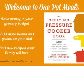 The Great Big Pressure Cooker Book: 500 Easy Recipes for Every Machine, both Stovetop and Electric | PreparednessMama