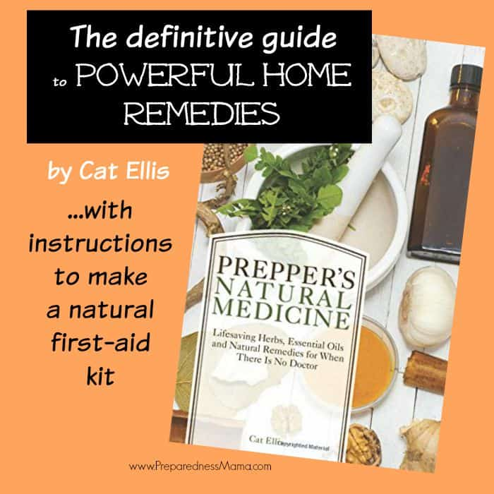 Prepper's Natural Medicine by Cat Ellis