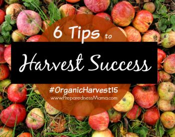 6 Tips for Gardening Success, part of #OrganicHarvest15 | PreparednessMama