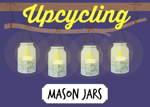 Upcycling Mason Jars - from salad, to soil prep, to gardening - you can do it in a jar| PreparednessMama