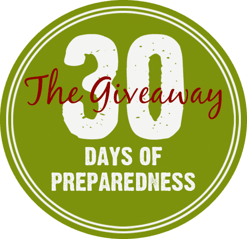 30 Days of Preparedness Giveaway September 2015 | PreparednessMama