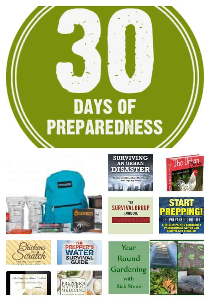 30 Days of Preparedness Giveaway | PreparednessMama