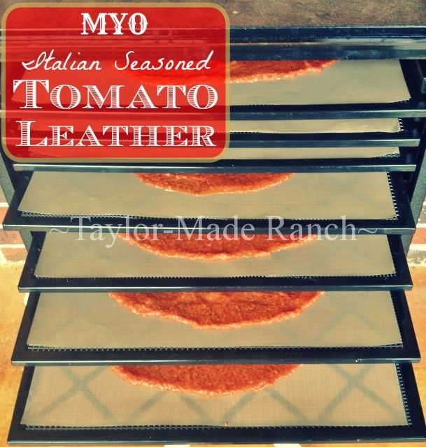 I'm always looking for a quick trick to make dinners easier and this dehydrated tomato leather from Taylor Made Ranch is pretty awesome. It's the feature on Front Porch Friday 82 | PreparednessMama