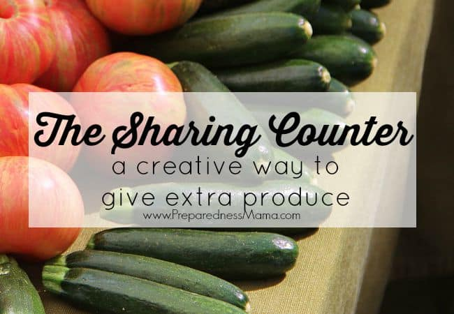 The Sharing Counter