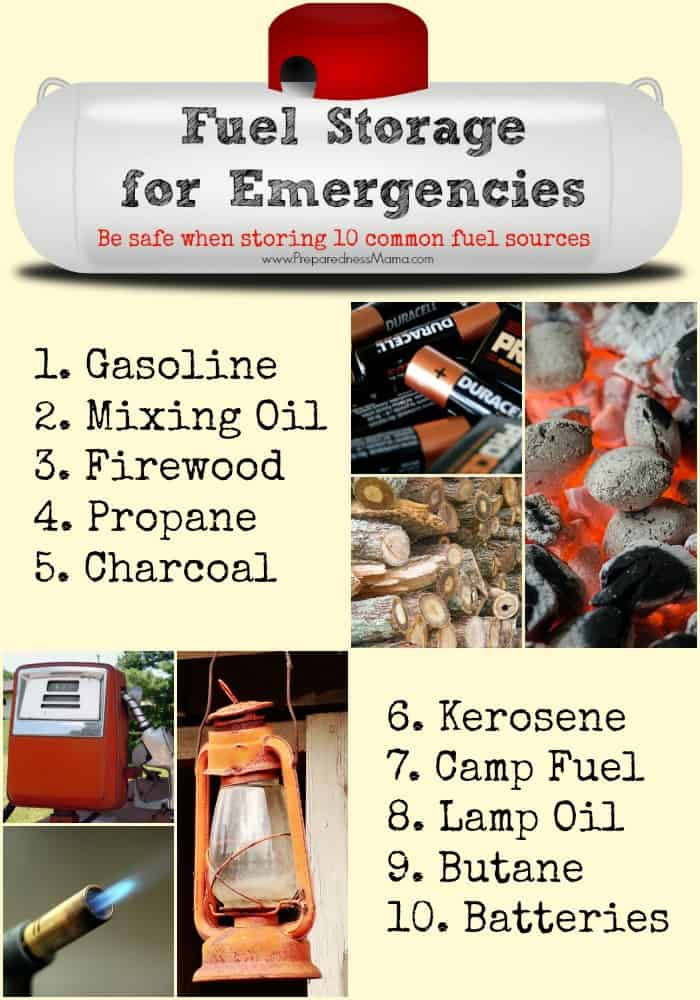 Learn how to store fuel for emergencies | PreparednessMama