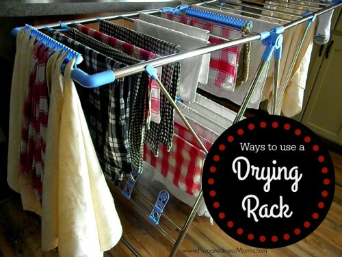 Ways to use a drying rack | PreparednessMama