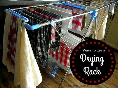 Ways To Use A Drying Rack Preparednessmama