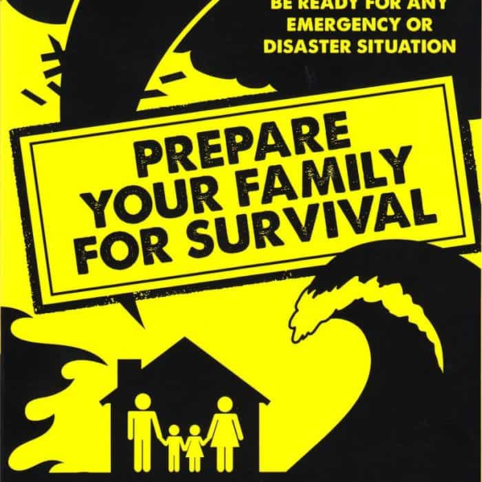 "Prepare Your Family for Survival has one of the most extensive ""get ready"" checklists I've ever seen 
