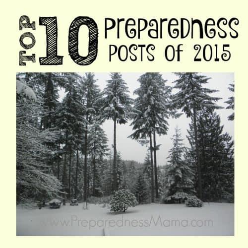 Readers choice! The top 10 preparedness posts in 2015   PreparednessMama