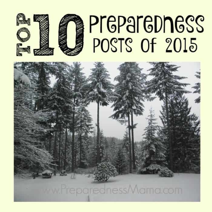Top 10 Preparedness Posts of 2015