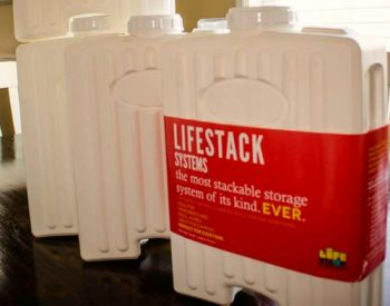 Lifestack Storage Stackable Containers