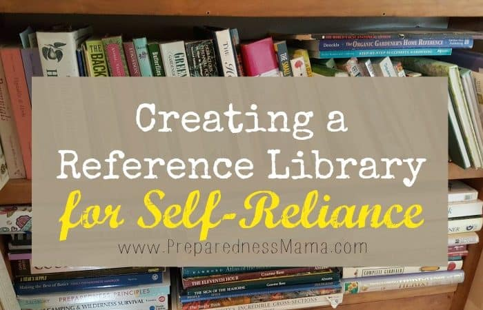 Creating a Reference Library