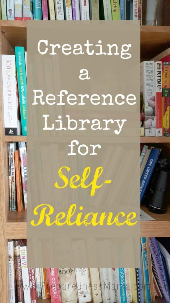 Creating a reference library for a self-reliant life | PreparednessMama