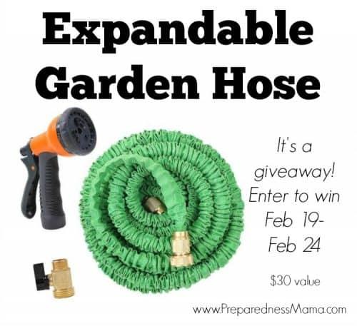 Tools : Expandable Garden Hose | PreparednessMama