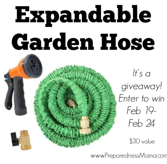 Expandable Garden Hose + Giveaway