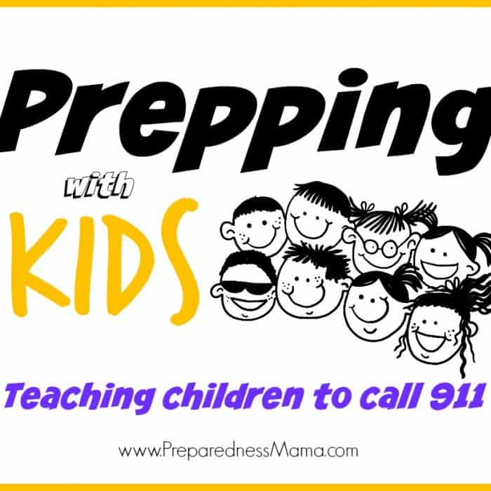 Prepping With Kids Series: Teaching Kids to Call 911
