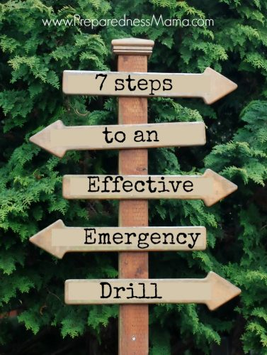 7 Steps to an Effective Emergency Drill | PreparednessMama