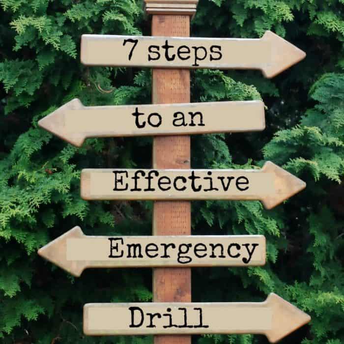 7 Steps to an Effective Emergency Drill | PreparednessMama