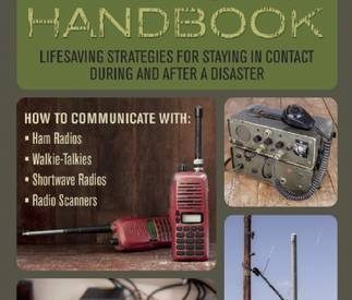 Prepper's Communication Handbook by Jim Cobb. A must read if you want to stay connected during a disaster | PreparednessMama