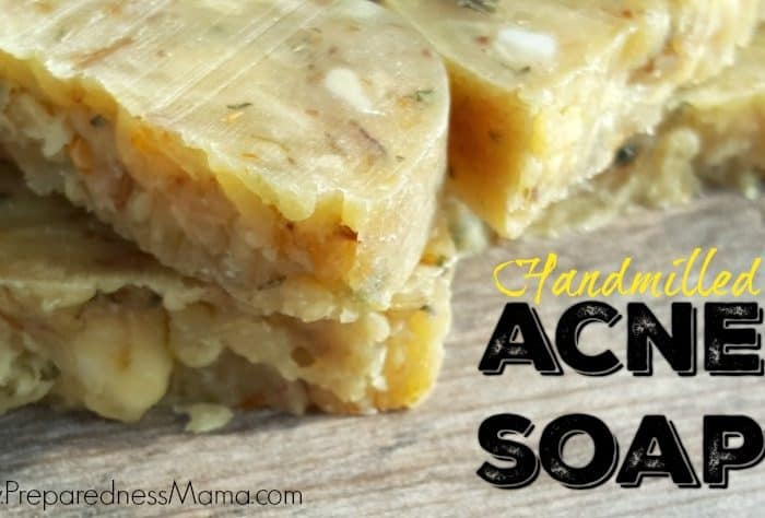 Hand-Milled Acne Soap