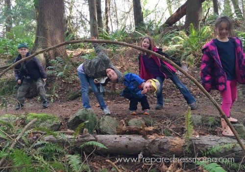 Camping for preparedness - the Baird Kids | PreparednessMama
