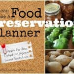 Be a Food Preservation Planner
