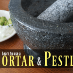 Learn to Use a Mortar and Pestle