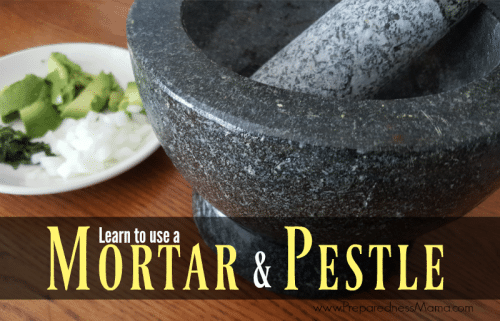 The mortar and pestle may be one of the most unknown kitchen tools areound. It's terrific afor food storage and daily use. Learn to use a mortar and pestle | PreparednessMama