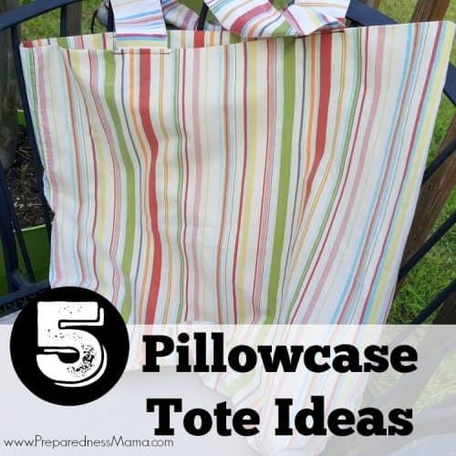 Making Pillowcases Best 60 Easy Pillowcase Tote Ideas PreparednessMama