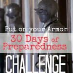 30 Days of Preparedness Challenge