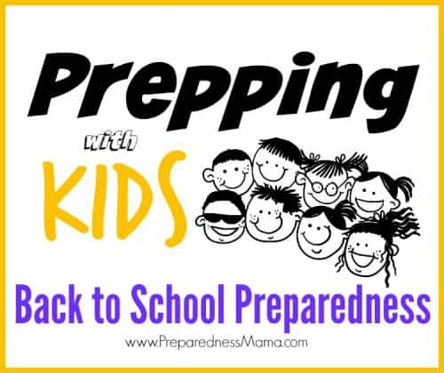 School is back in session. Do your kids know what to do in an emergency? Make a back to school preparedness plan | PreparednessMama
