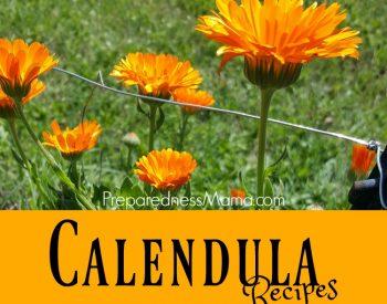 Calendula Herbal Recipes for Health & Gifts