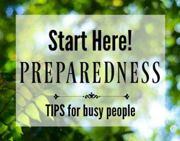 Preparedness Planning for Busy Moms