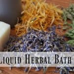 DIY Liquid Herbal Bath Soap