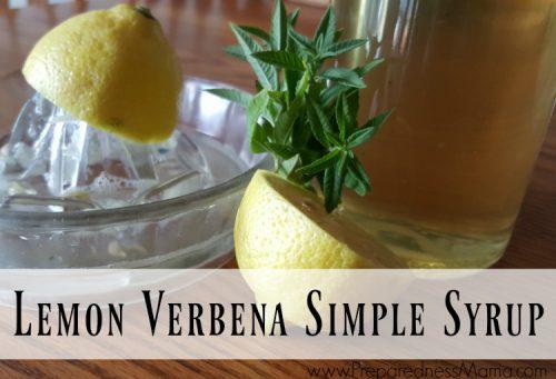 Preserve the harvest with lemon verbena simple syrup   PreparednessMama
