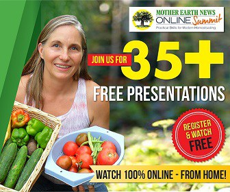 Register today for The Mother Earth News Online Summit starting 10/31/16 | PreparednessMama