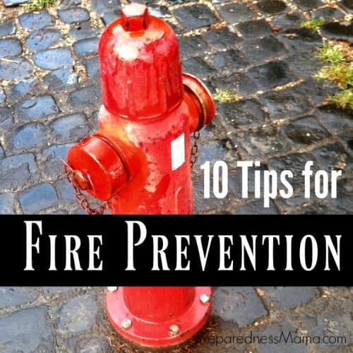 10 Tips for fire prevention week | PreparednessMama