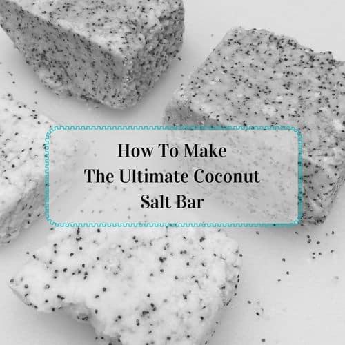 Coconut salt bars are part of the ultimate DIY gift basket | PreparednessMama
